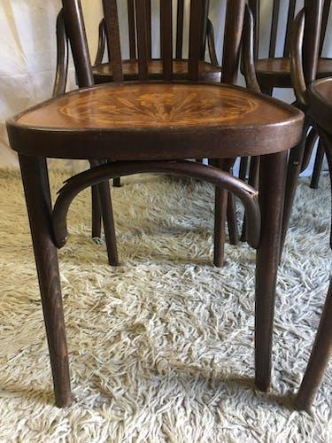 Set de 4 chaises bistrot – années 50/60