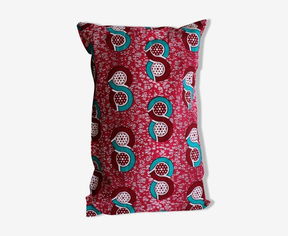 """Le """"cosy"""" coussin en wax, coussin tissus africain"""