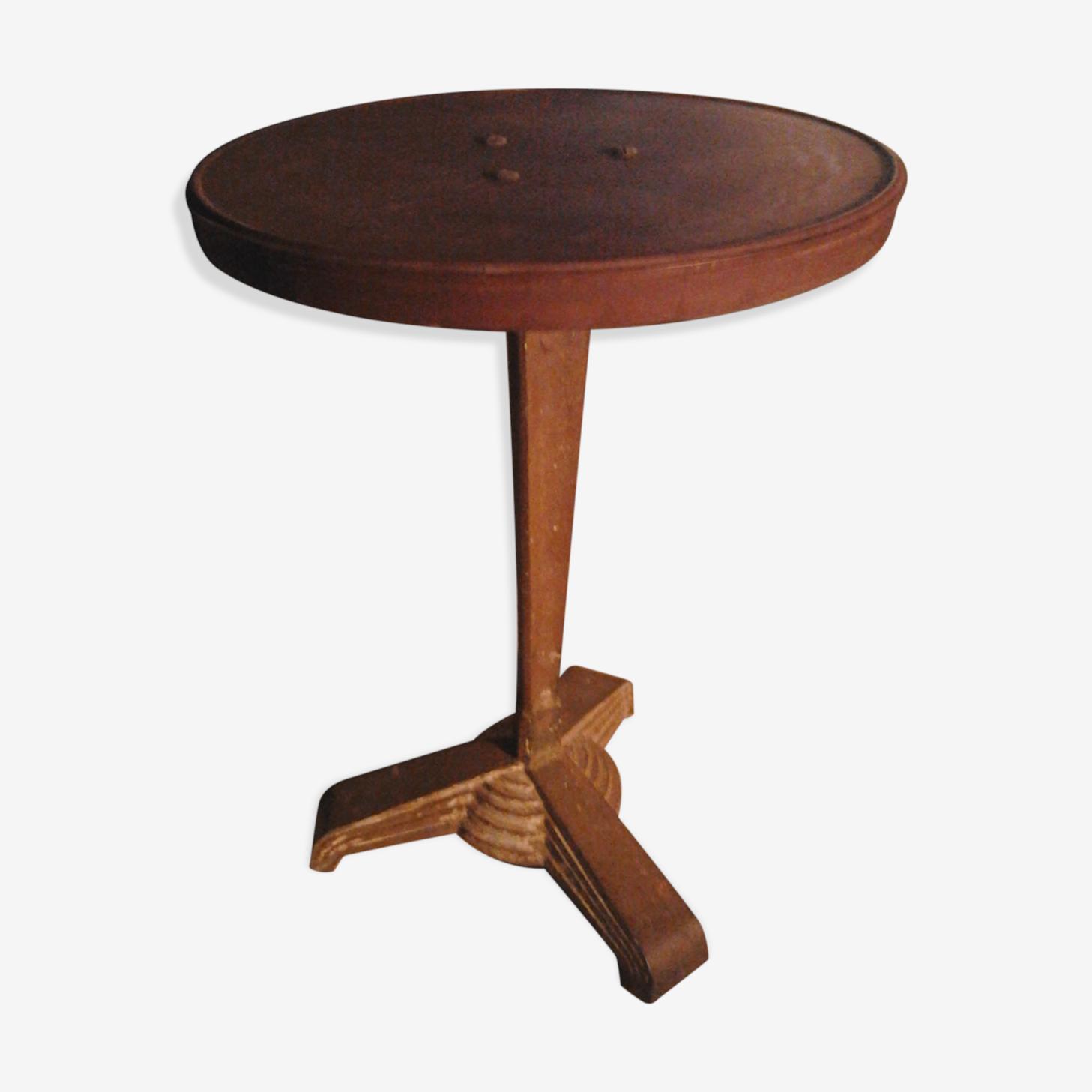 Table de bistrot rex vers 1930