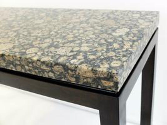 Console en granite et bois - At. To E. J. Wormley
