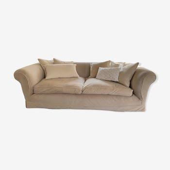 Conran Shop velvet sofa