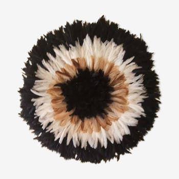 Juju Hat inner black Contour Beige then white then 80 cm black