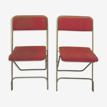 Paire de chaises de camping lafuma
