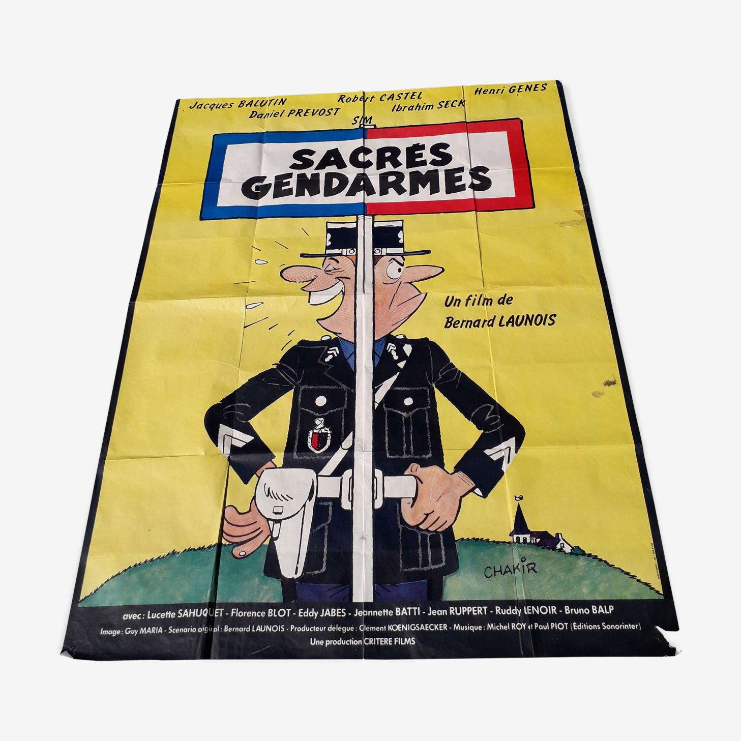 Movie poster sacred gendarmes 1980