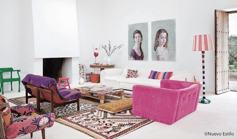 portrait l 39 huile vintage d 39 occasion. Black Bedroom Furniture Sets. Home Design Ideas