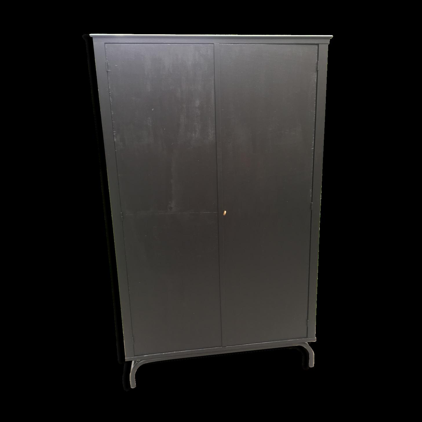 armoire metallique noire free meuble cuisine roulette. Black Bedroom Furniture Sets. Home Design Ideas