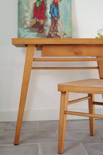 Ensemble bureau enfant et chaise Baumann