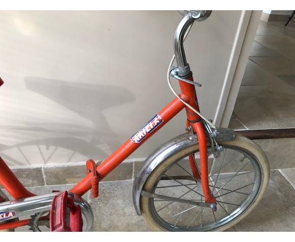 Vélo enfant vintage pliable en métal