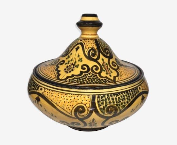 Tajine art marocain du maitre Serghini Safi