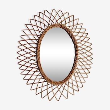 Miroir ovale 41x50cm