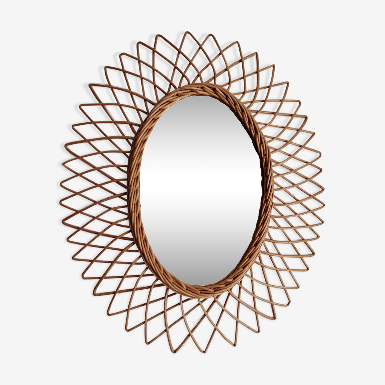 Oval mirror 41x50cm