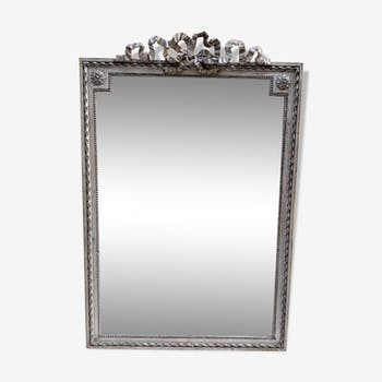 Mirror silver style louis XVI 122 cm x 80cm