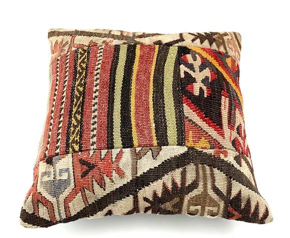 Vintage kilim cushion cover 40x40cm