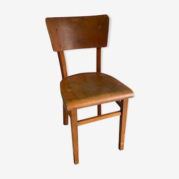 Chaise bistrot Thonet en bois courbé, XXème