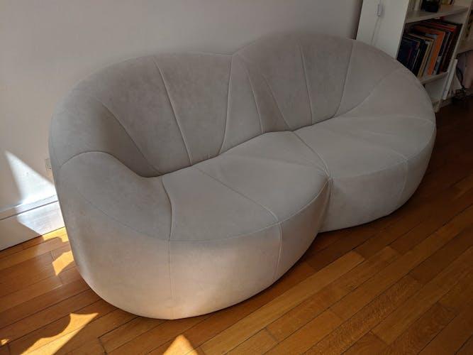 Pumpkin sofa design Pierre Paulin edited by Ligne Roset