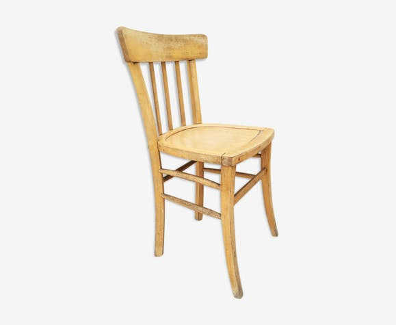 Chaise de cuisine vintage, 1960 - bois (Matériau) - marron ...
