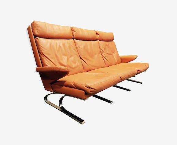 """Canapé haut de gamme design """"Reinhold Adolf"""" par """"Cor"""" 1960."""
