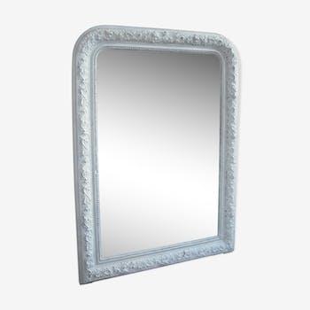 Miroir stuck blanc 103/75