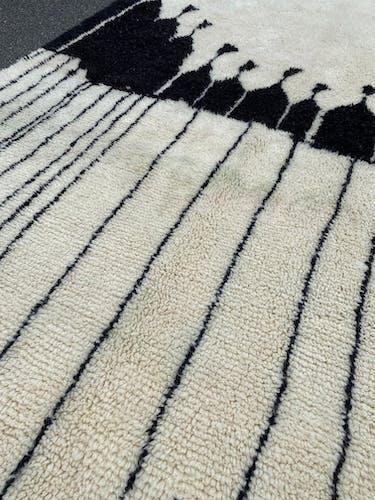 Tapis berbere Beni Ouarain 240x320 cm