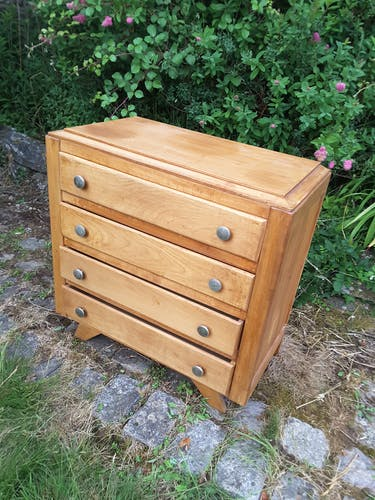 Commode vintage 4 tiroirs