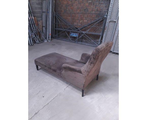 Chaise longue tapissée Napleon III