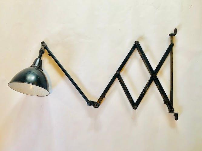 Lampe ciseaux Modèle 110 Midgard Curt Fischer Industriwerke Auma