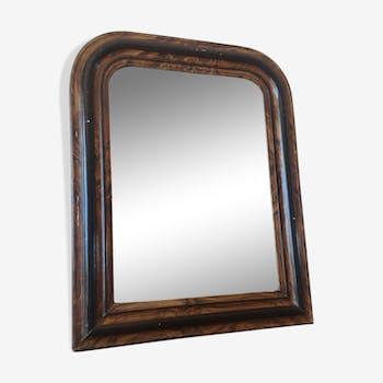 Miroir style Napoléon III 58x46cm