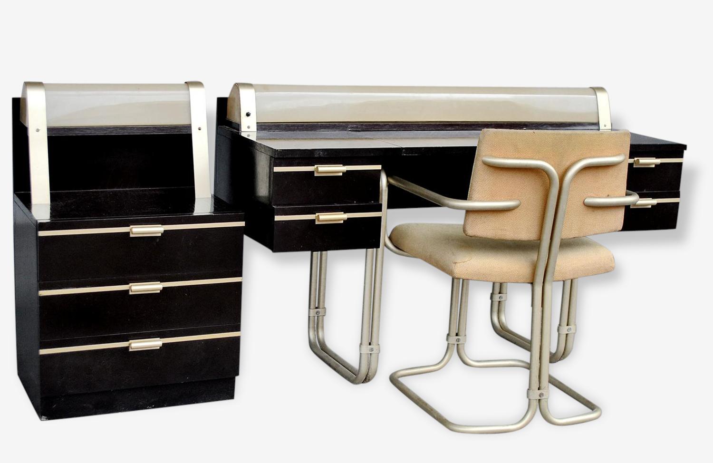 Bureau coiffeuse de dame design Français époque XXème