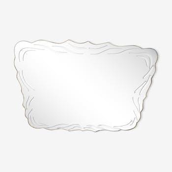 Beveled mirror 70x55cm