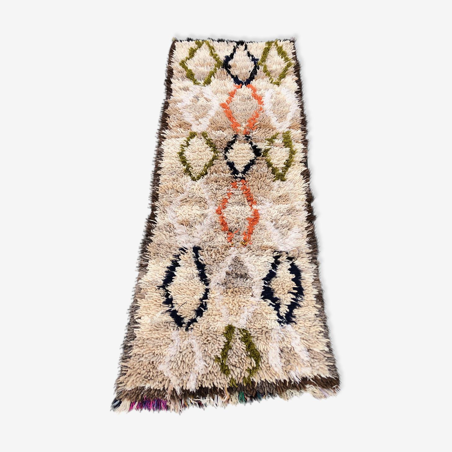 Tapis berbere azilal 200x75 cm