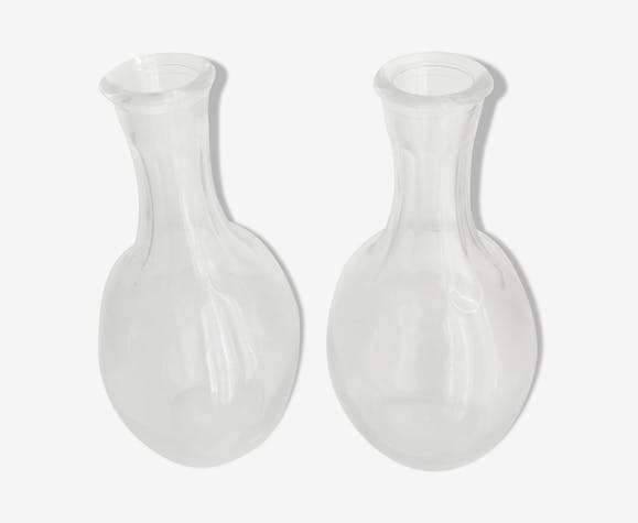 Lot of 2 carafes 25 cl 50 years