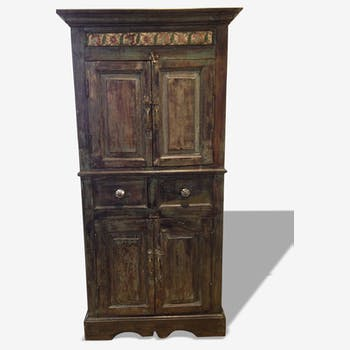 Patinated Cabinet time British colony