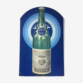 Carton publicitaire Vichy