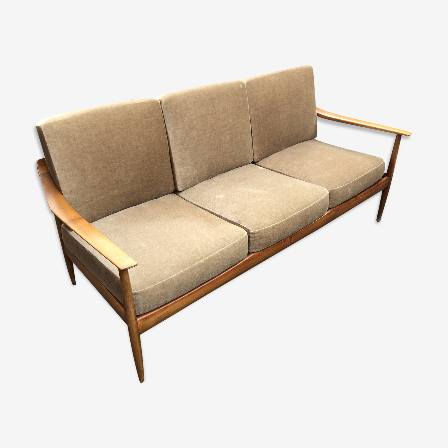 Canapé scandinave de Wilhelm Knoll