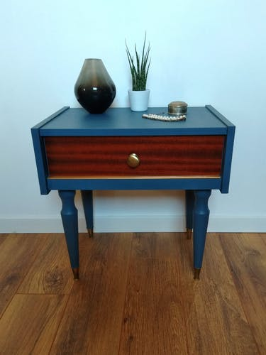 60s bedside table