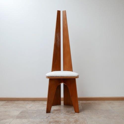 Ensemble de 8 chaise modernistes Belgique du milieu du siècle