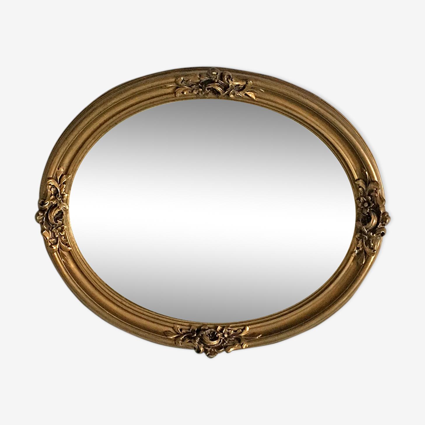 Miroir médaillon 59x47cm