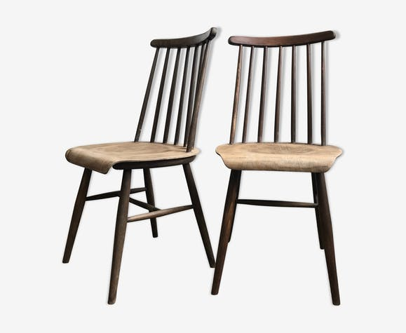 Pair of Fanett chairs by Ilmari Tapiovaara
