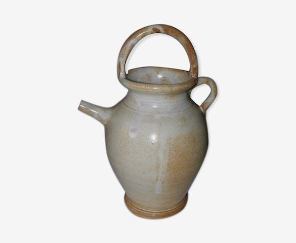 Ancienne cruche en terre hauteur 30 cm