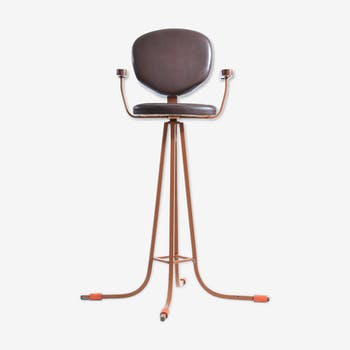 Chaise haute pour enfant 1960