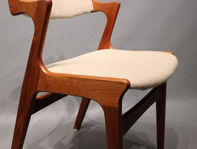 Set of 4 Danish teak dining chairs by Nova Møbelfabrik 1960