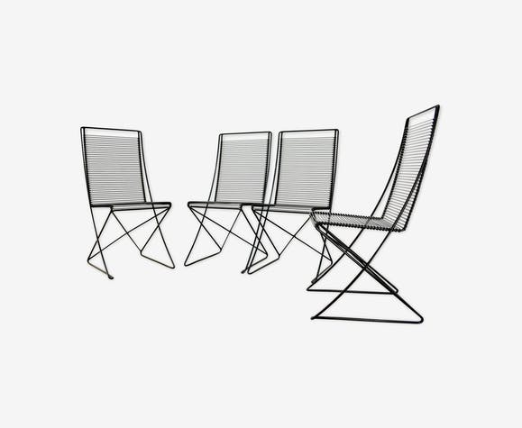 4 Armchairs By Till Behrens For Schlubach Germany 1980 Selency