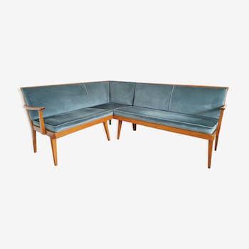 Scandinavian corner seat