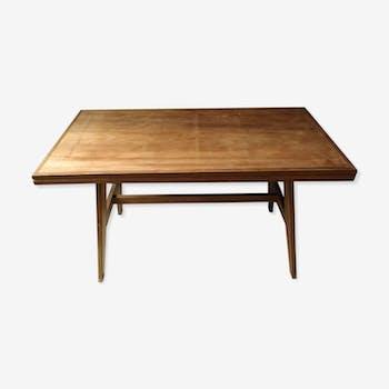 Table de repas René Gabriel, période Reconstruction