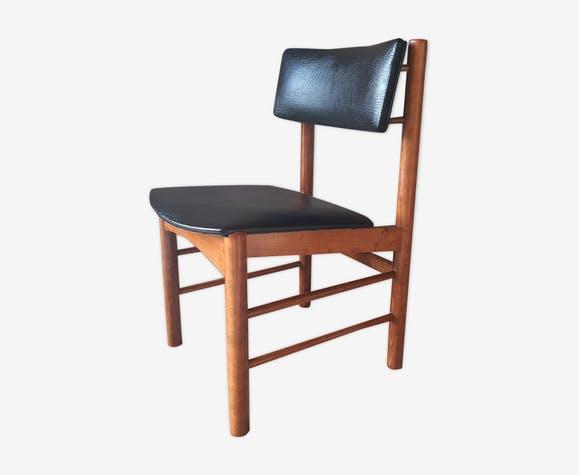 Chaise scandinave années 60