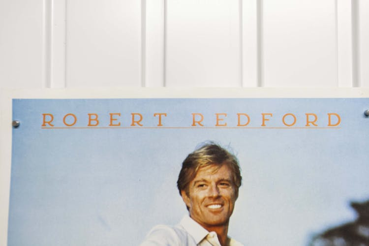 """Poster 60x40 """"The Best"""" Robert Redford Barry Levinson 1984"""