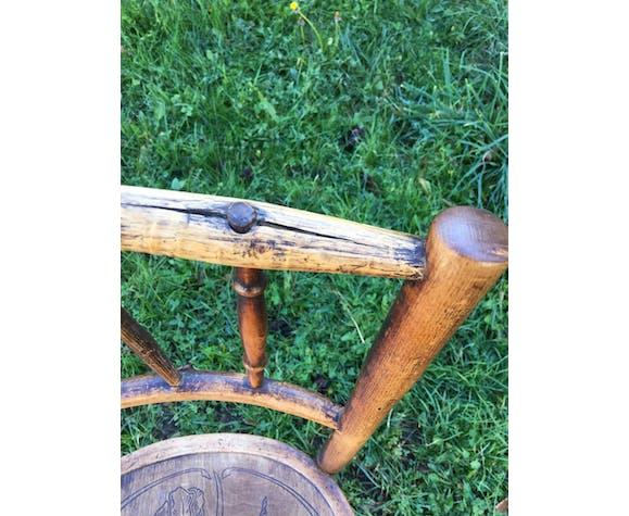 Chaise bistrot Art Nouveau