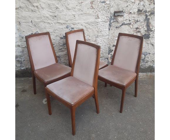 Lot de 4 chaises Nathan