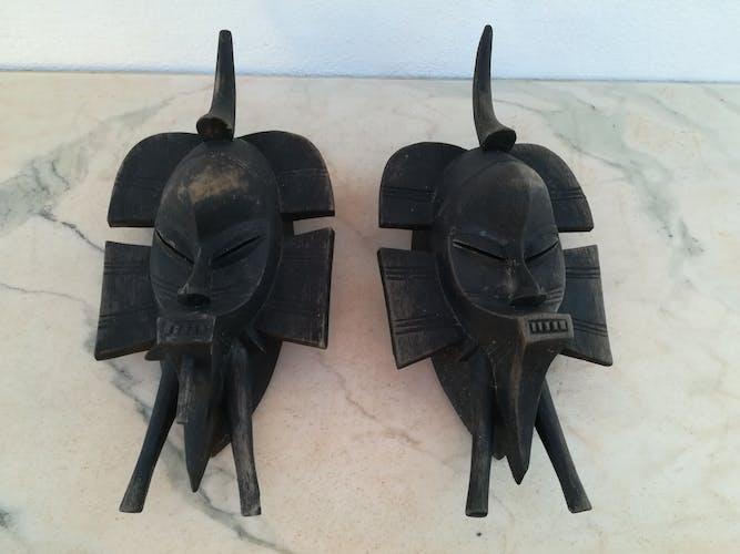 Duo de masques sénoufo