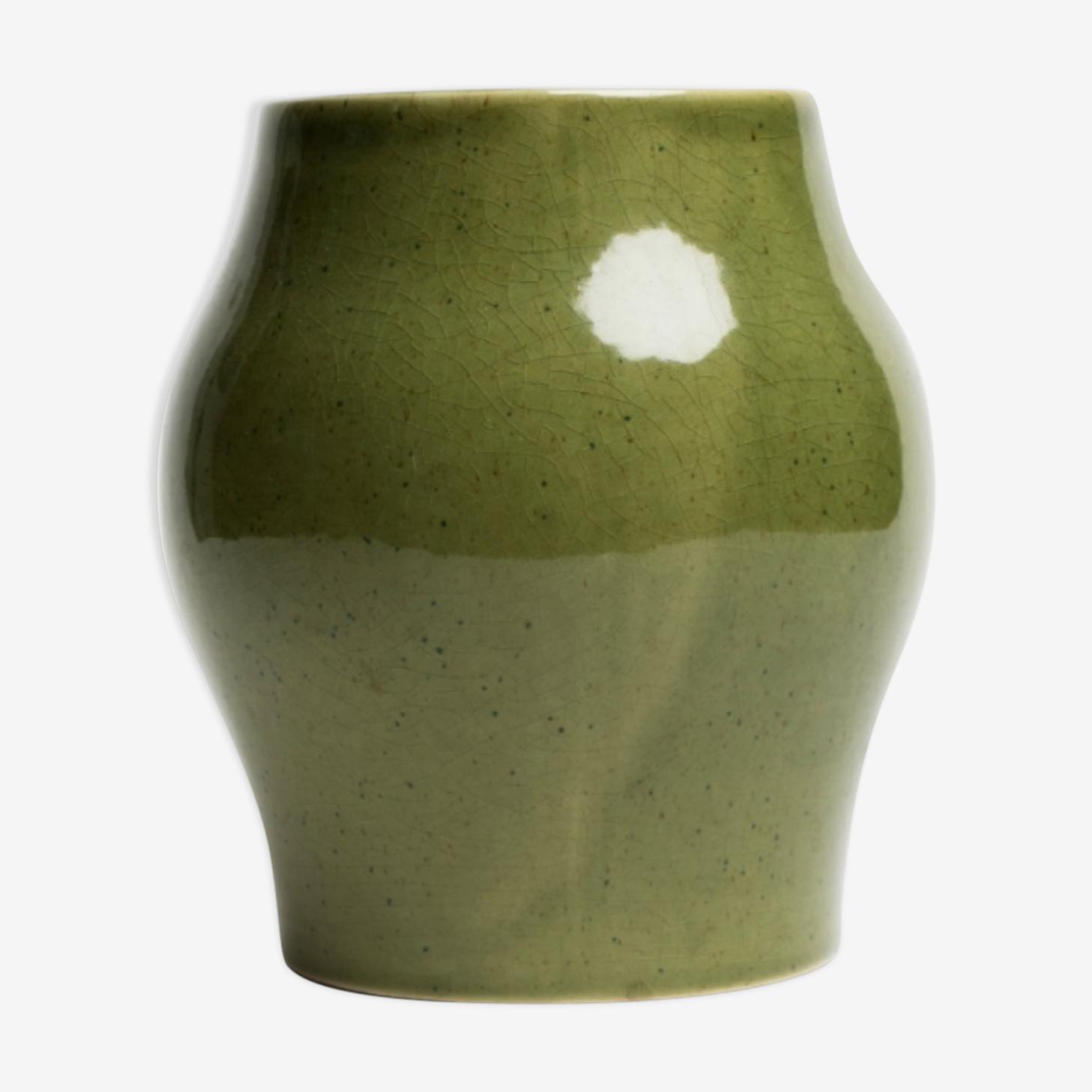 Vase moucheté